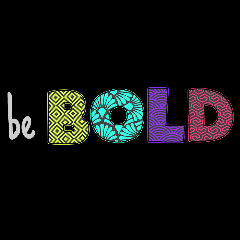 TeeTurtle: Be Bold