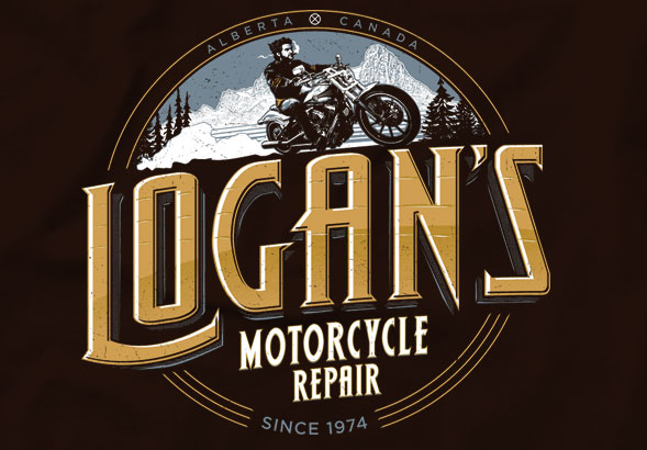 teeVillain: Logan's Motorcycle Repair