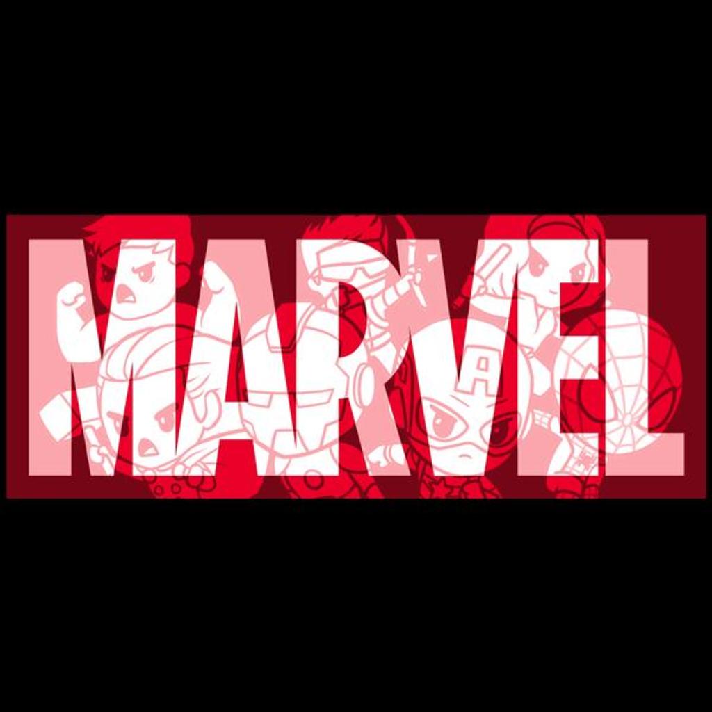 TeeTurtle: Marvel Logo Shirt