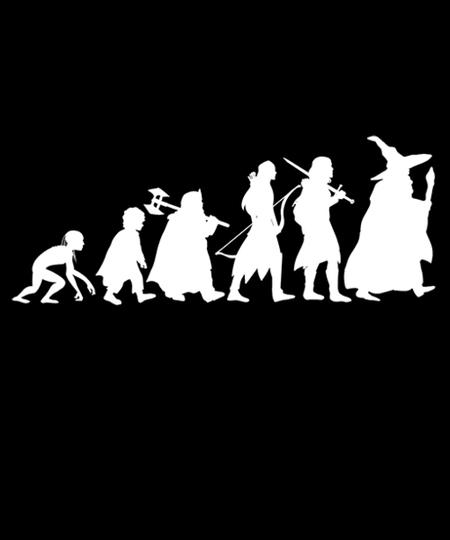 Qwertee: Fantasy evolution