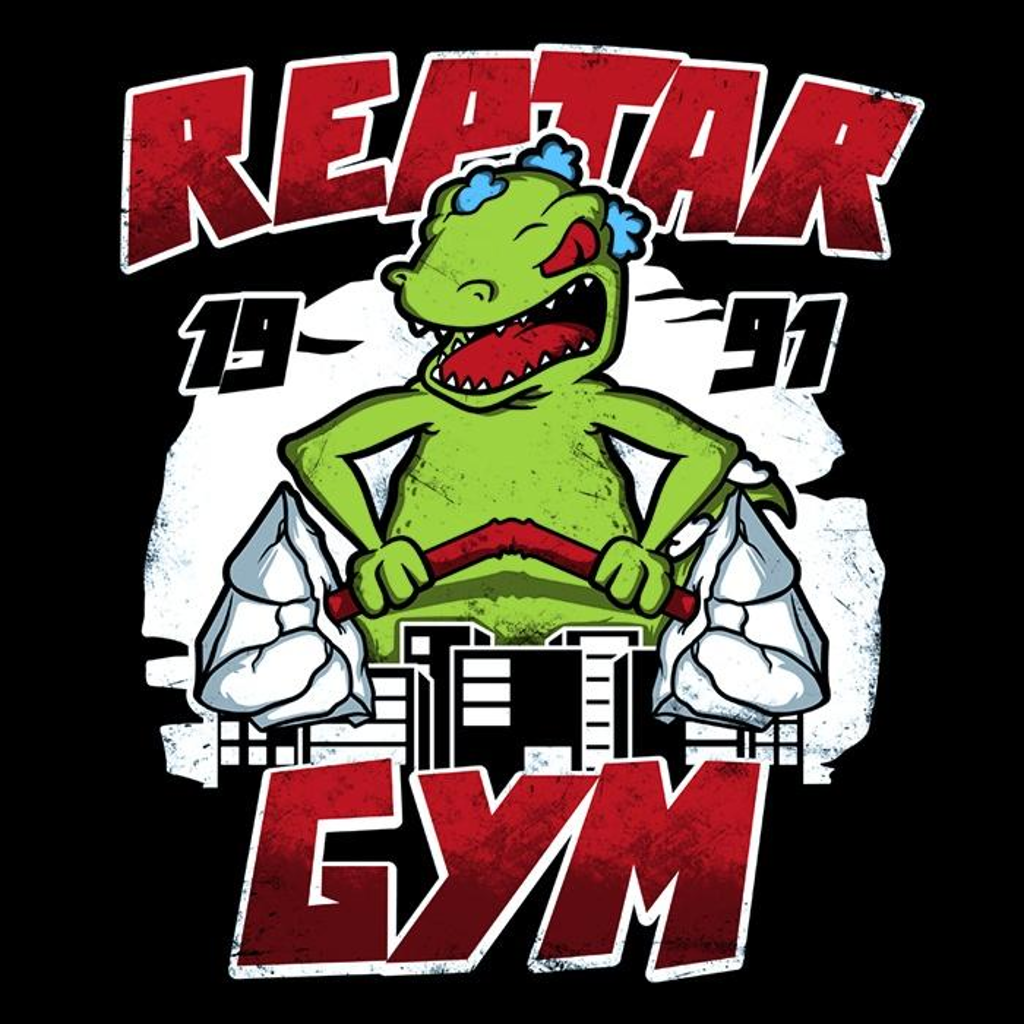 Once Upon a Tee: Reptar Gym