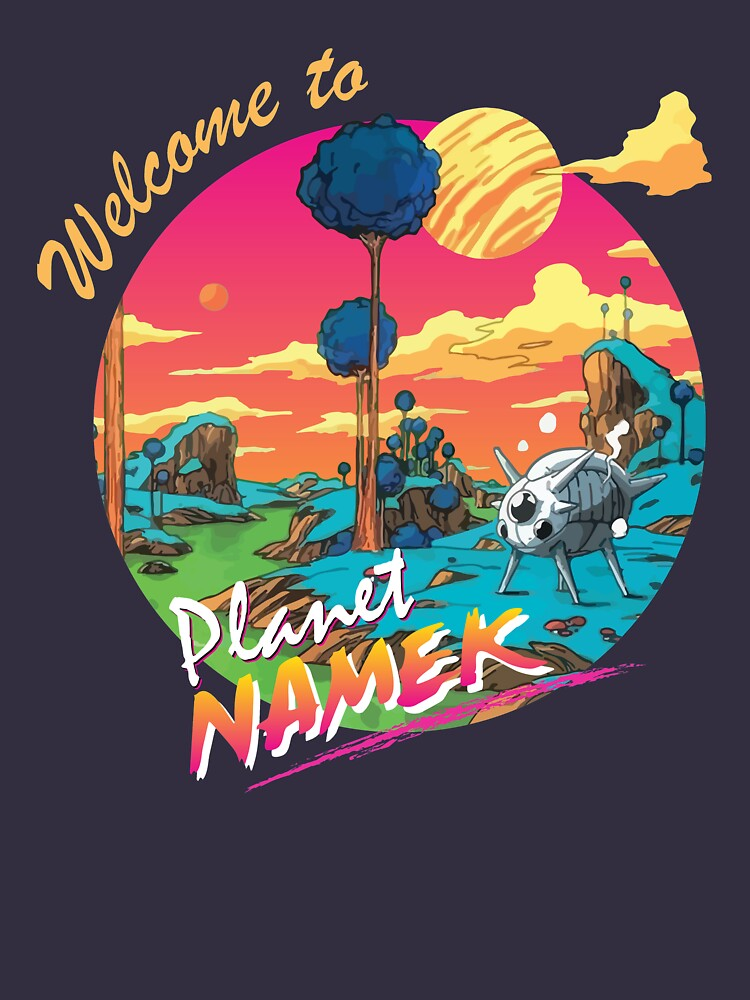 RedBubble: Dragon Ball Z Planet Namek