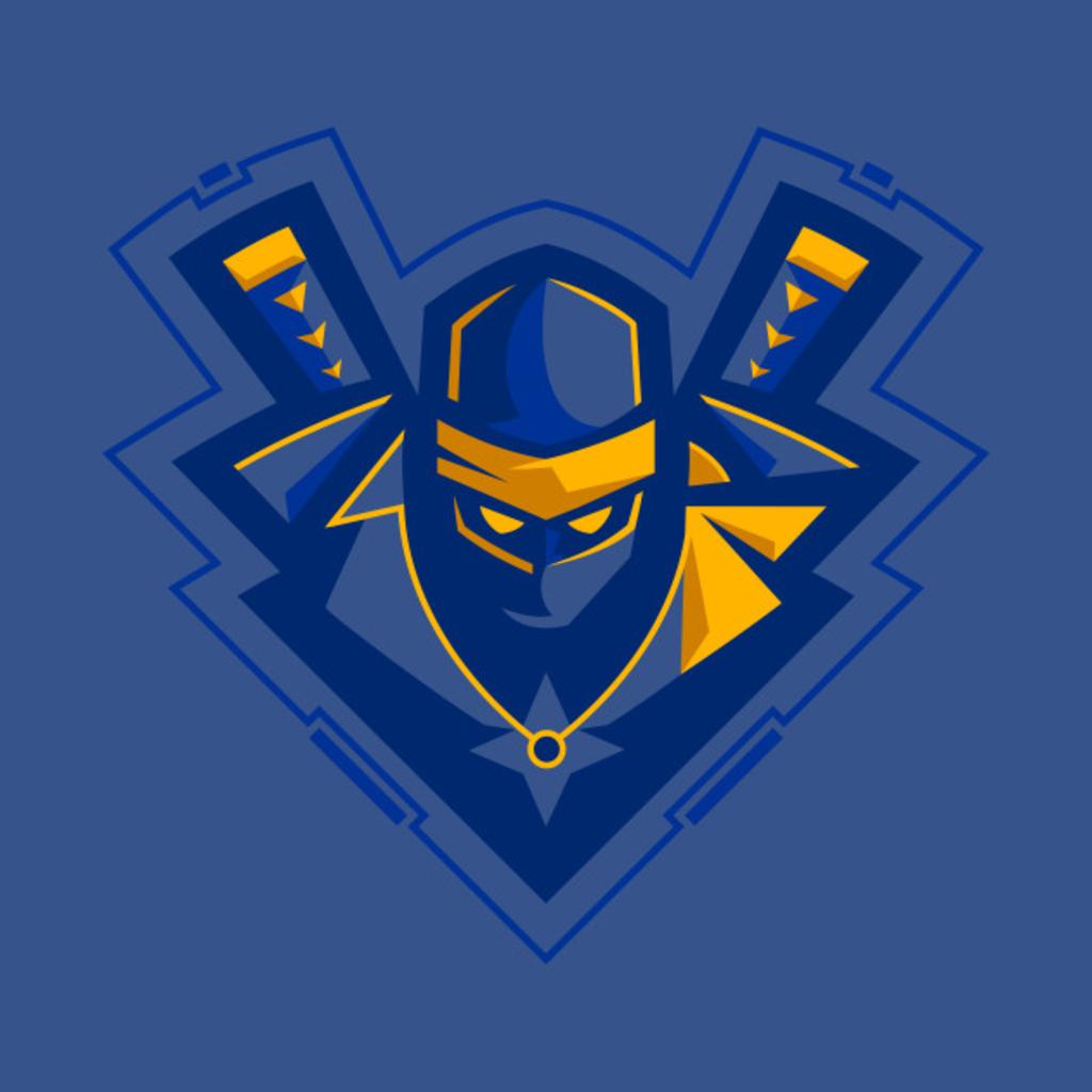 TeePublic: Blue Ninja