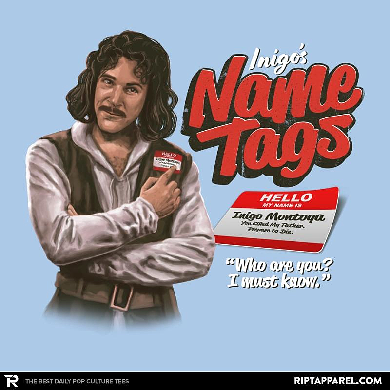 Ript: Inigo's Name Tags