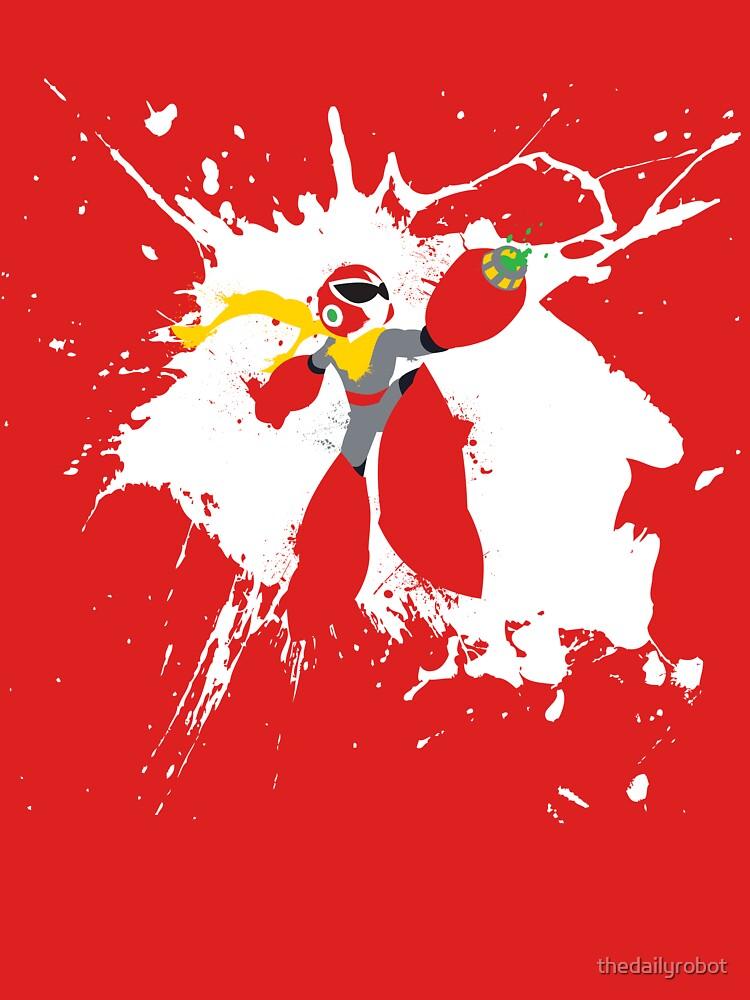 RedBubble: Protoman Paint Explosion