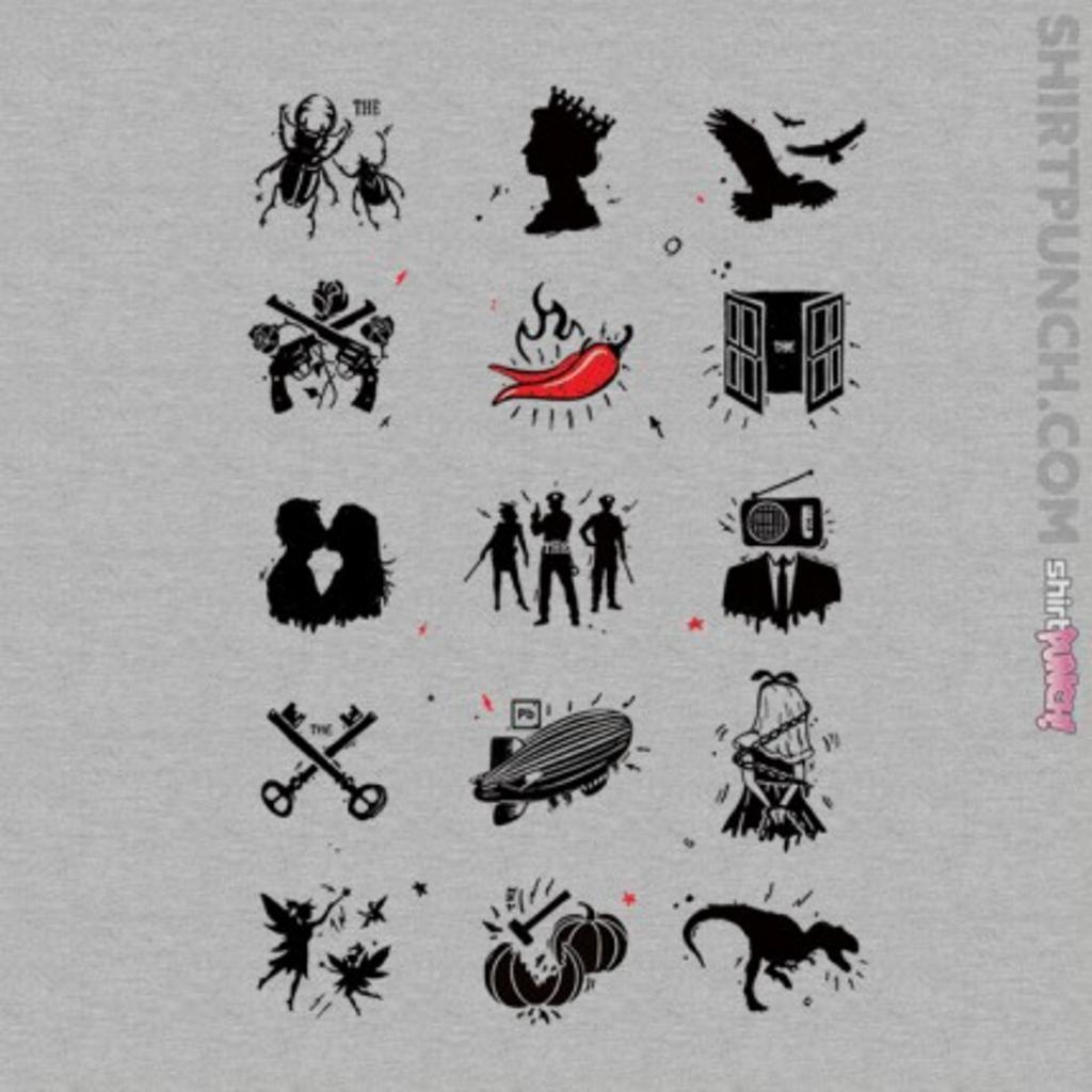 ShirtPunch: Rock n Roll Pictionary