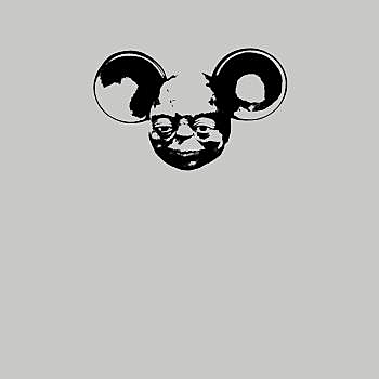 BustedTees: Yoda Mouse