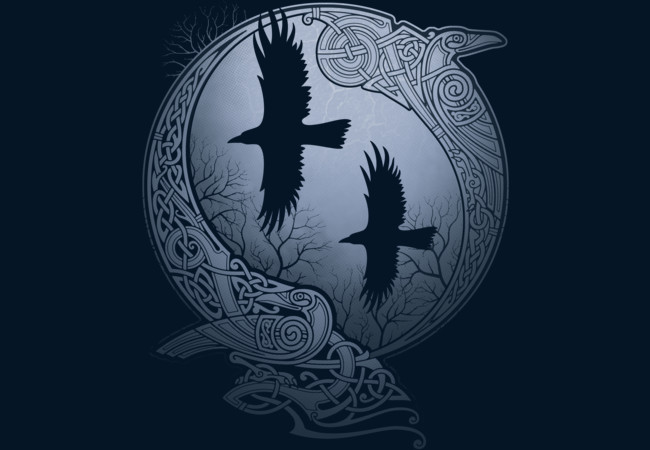 Design by Humans: ODIN'S RAVENS