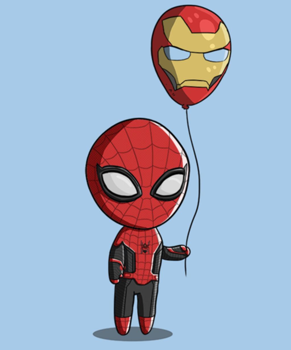 Qwertee: Spidey Balloon