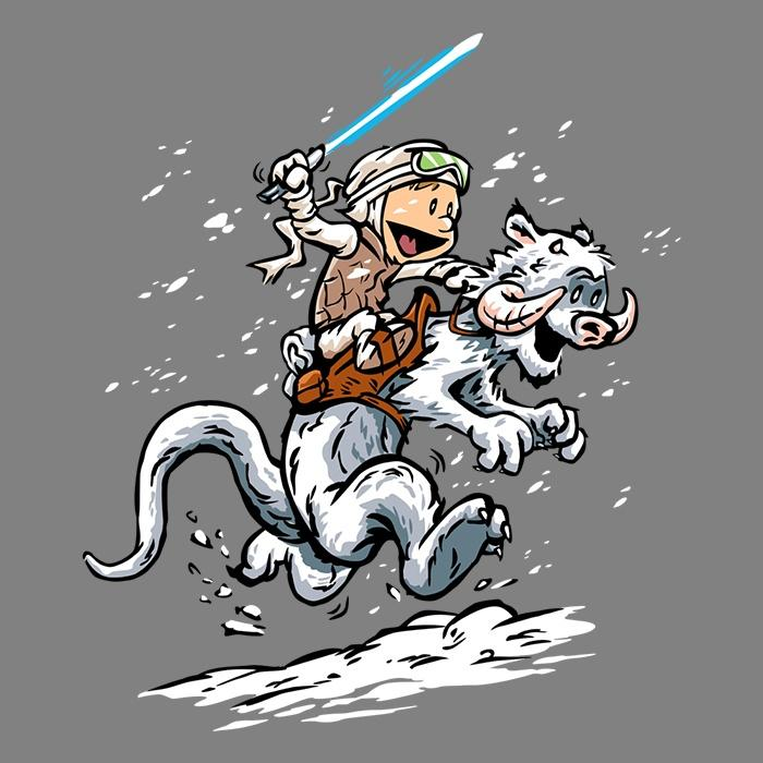 Once Upon a Tee: Calvin and Hoth
