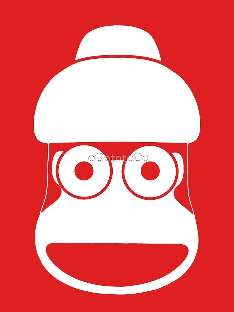 RedBubble: ape escape - monkey white