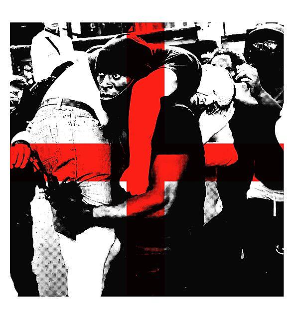 RedBubble: Bearing the Cross - Black lives matter - London - BLM