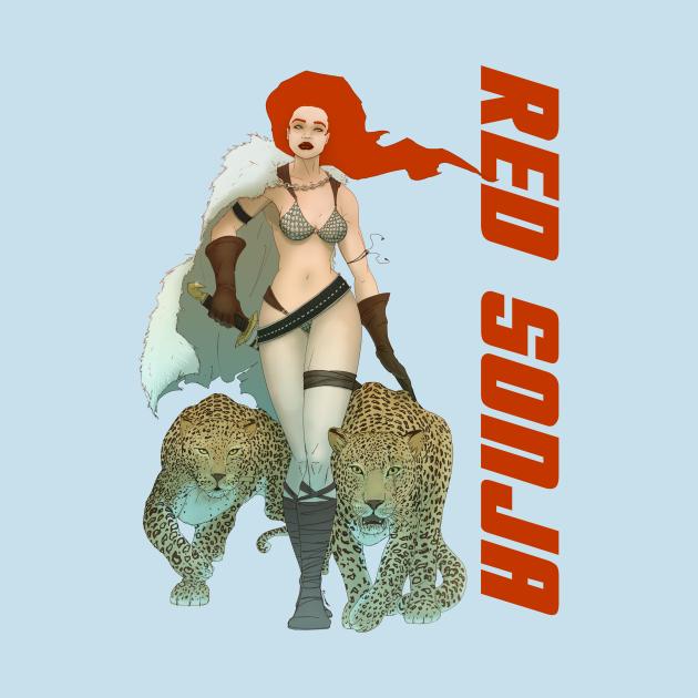 TeePublic: Red Sonja