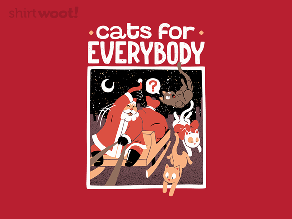 Woot!: Cats For Everybody - $8.00 + $5 standard shipping