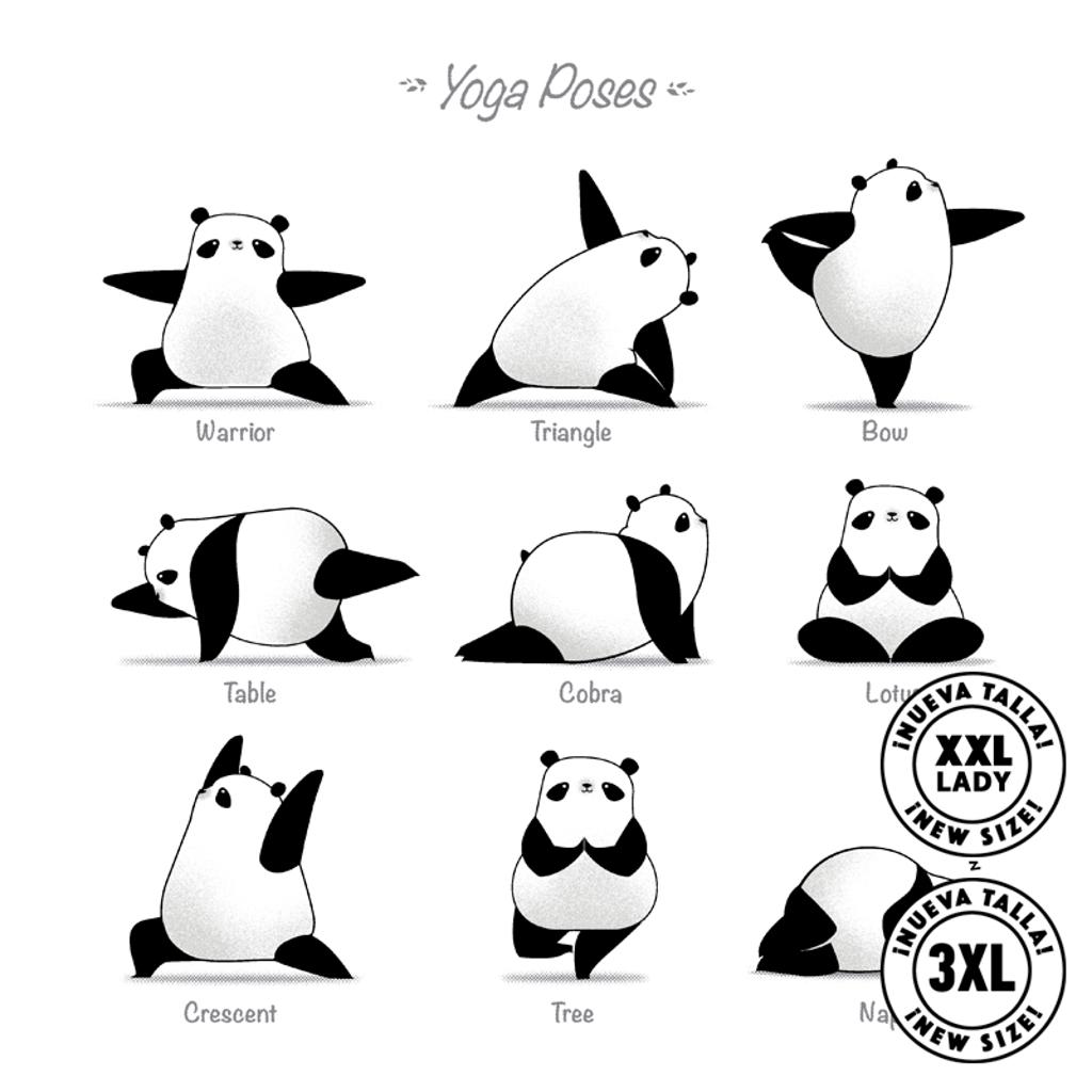Pampling: Yoga Panda