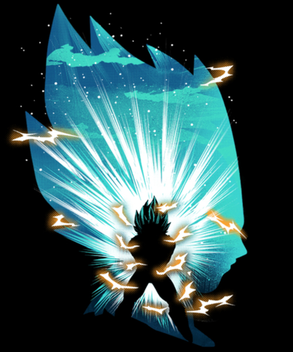 Qwertee: The Prince of Saiyan