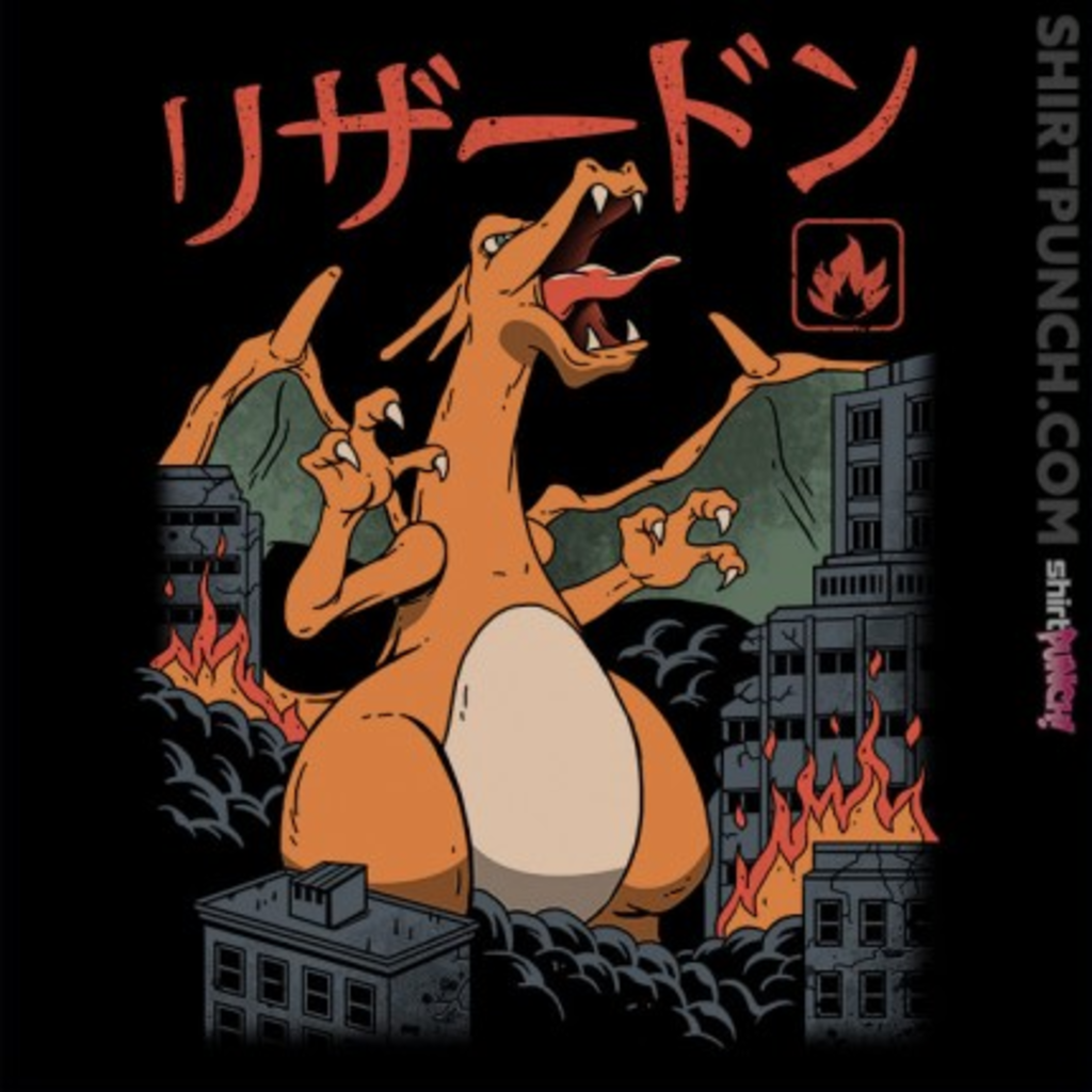 ShirtPunch: Fire Kaiju