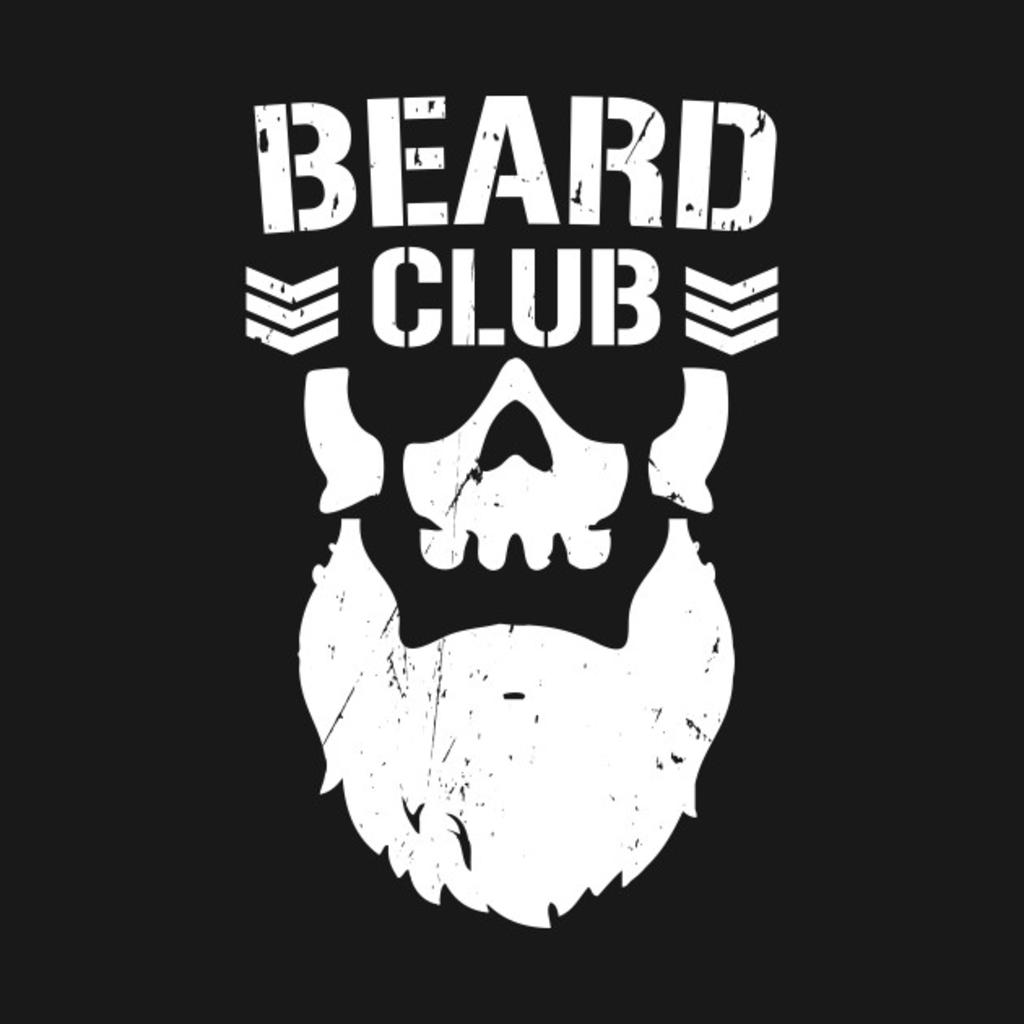 TeePublic: Beard Club