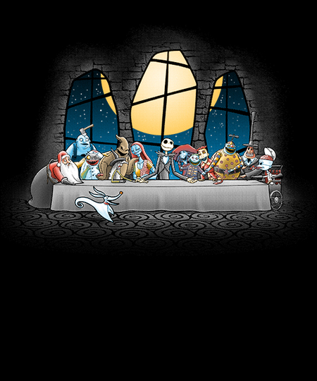 Qwertee: Dinner before christmas