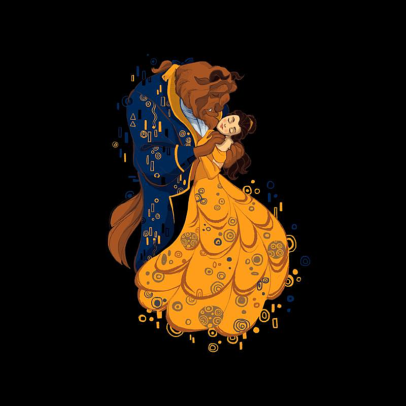 Pampling: Beauty and the Beast Kiss