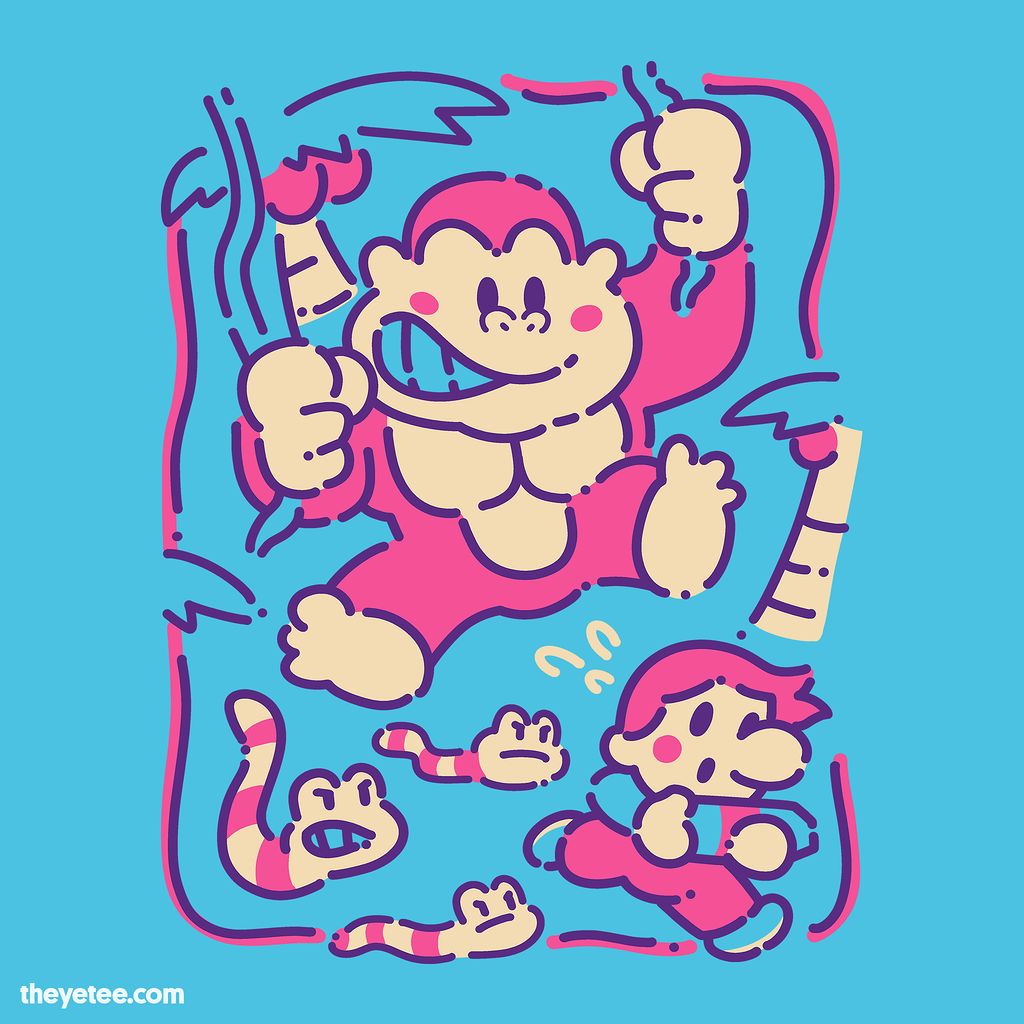 The Yetee: Retro Exterminator