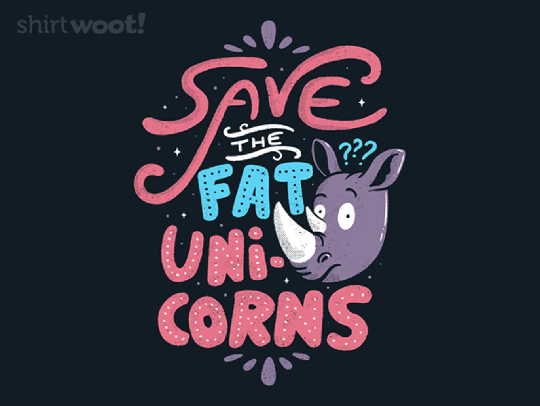 Woot!: Save The Fat Unicorns