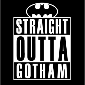 Shirt Battle: Straight Outta Gotham