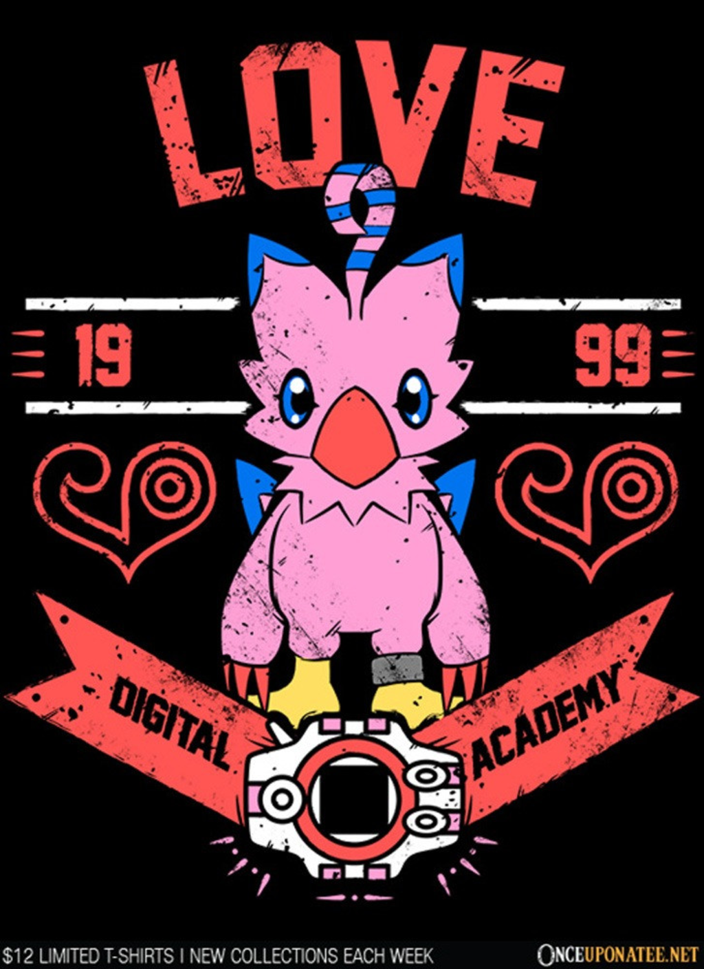Once Upon a Tee: Love Academy