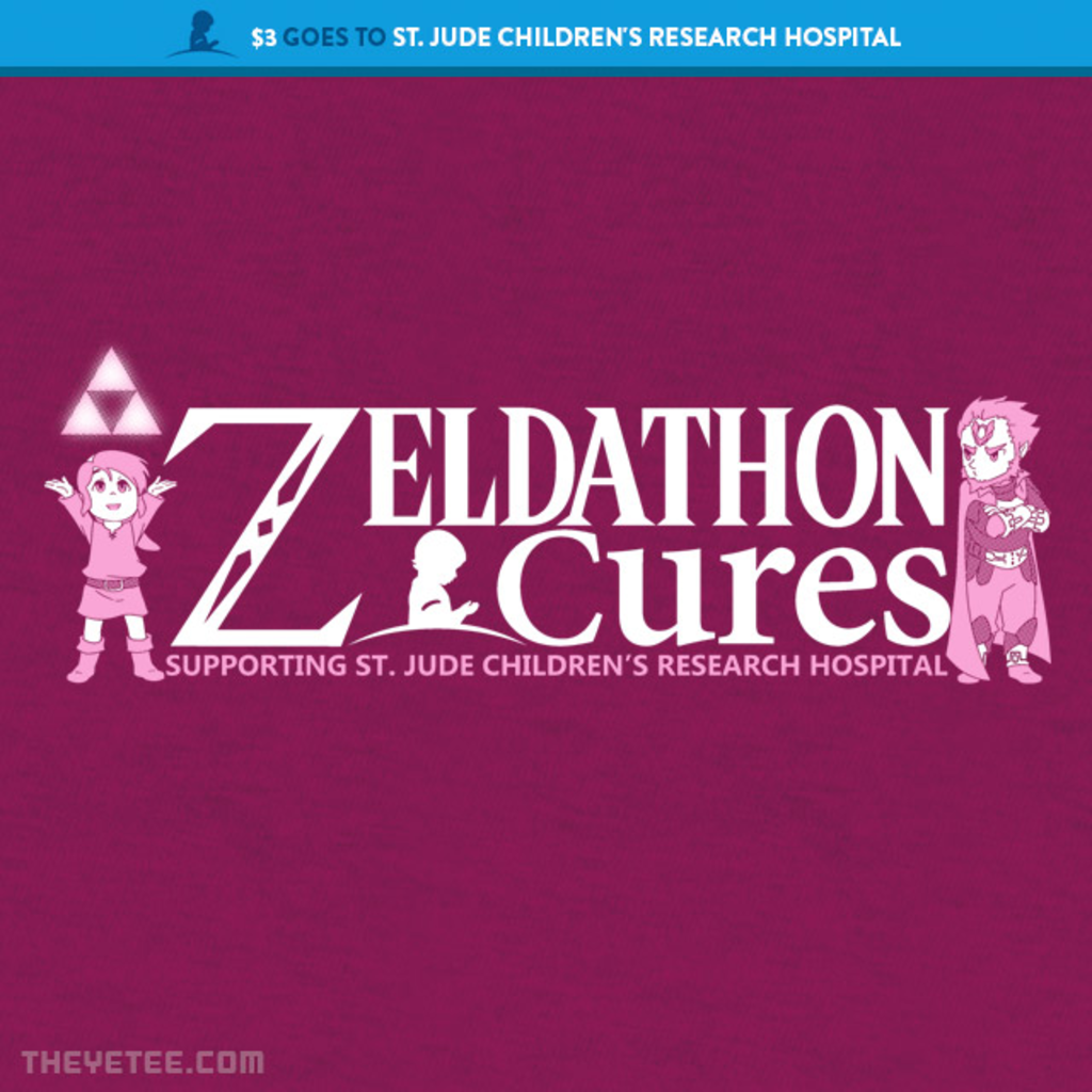 The Yetee: Zeldathon Cures