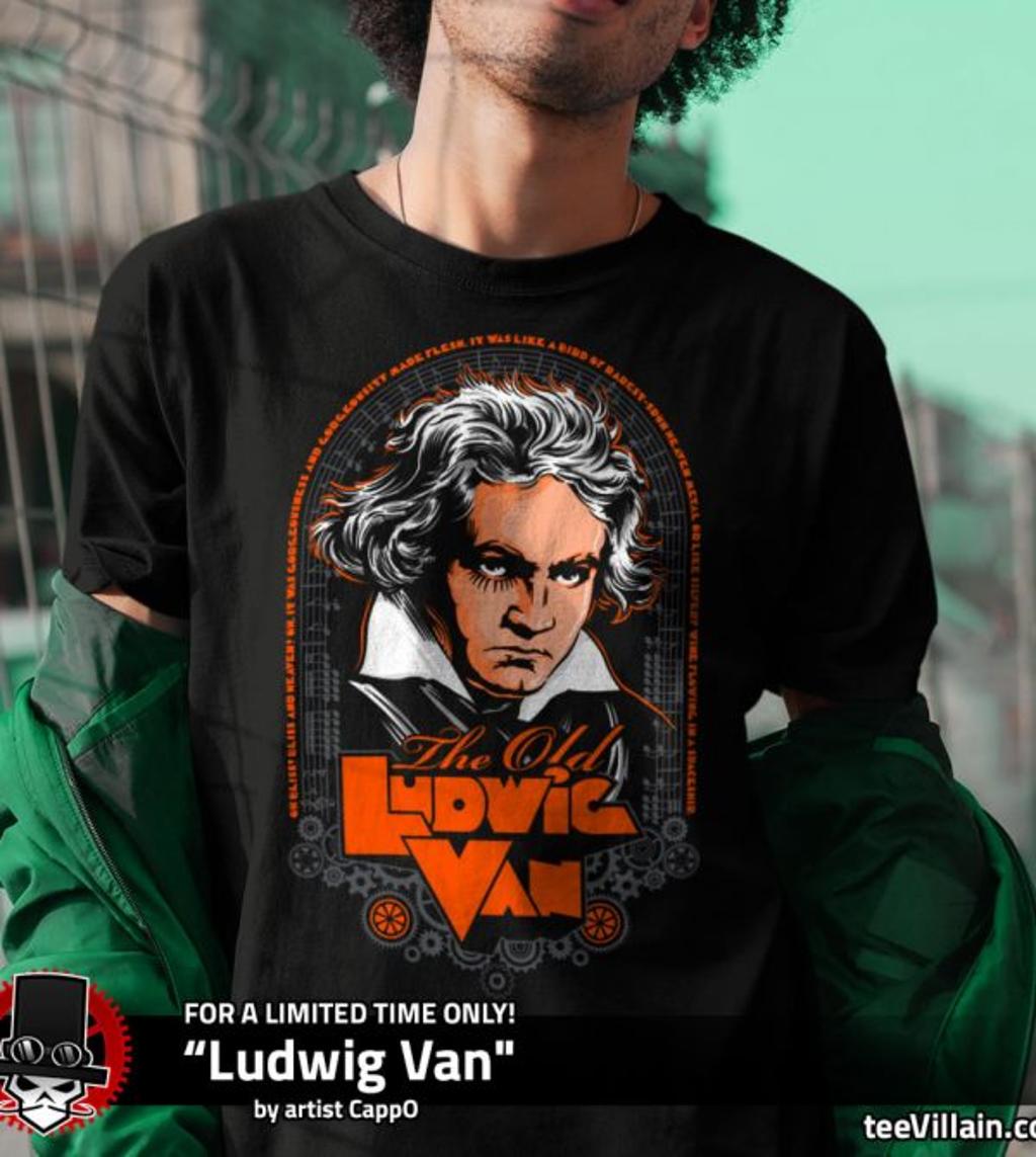 teeVillain: Ludwig Van