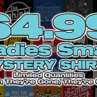 Top Rope Tuesday: Ladies Small Mystery Shirt