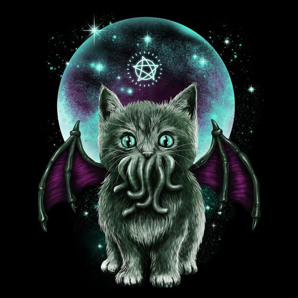 Once Upon a Tee: Cosmic Purrcraft