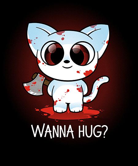 Qwertee: Wanna Hug?