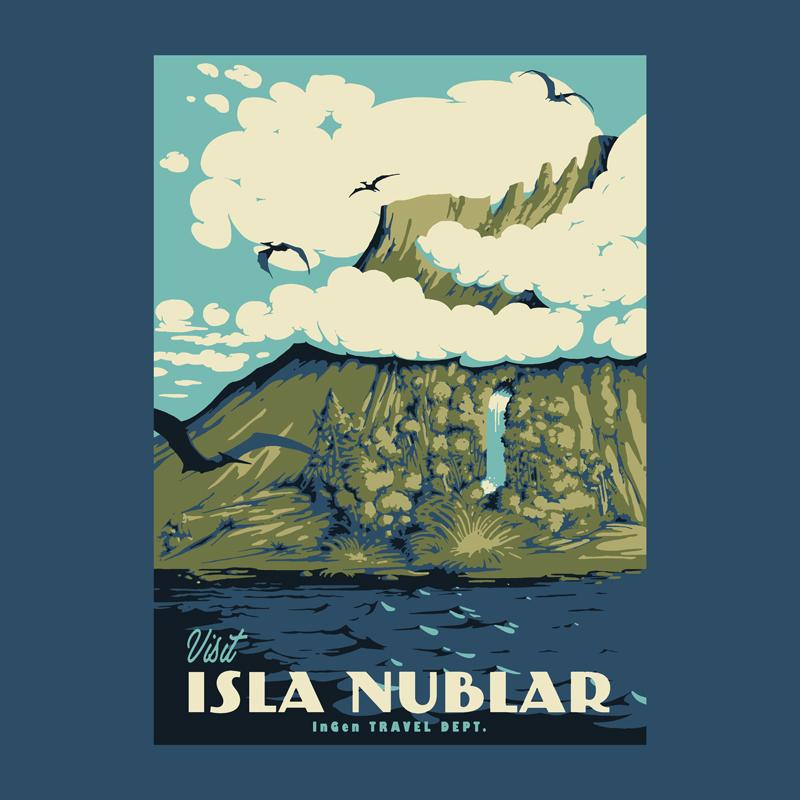 Pampling: Visit Isla Nublar