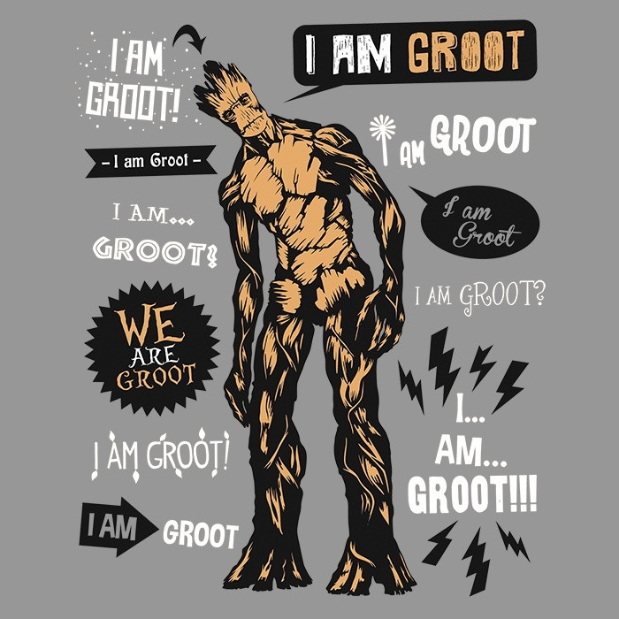 We Heart Geeks: Groot Famous Quotes