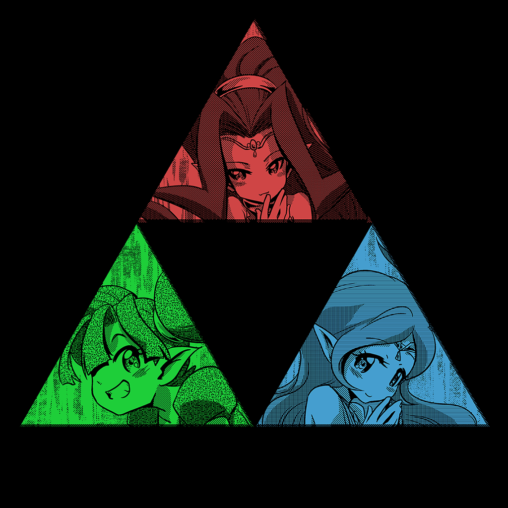 Pop-Up Tee: Daily Deal - Oracle of Triforce