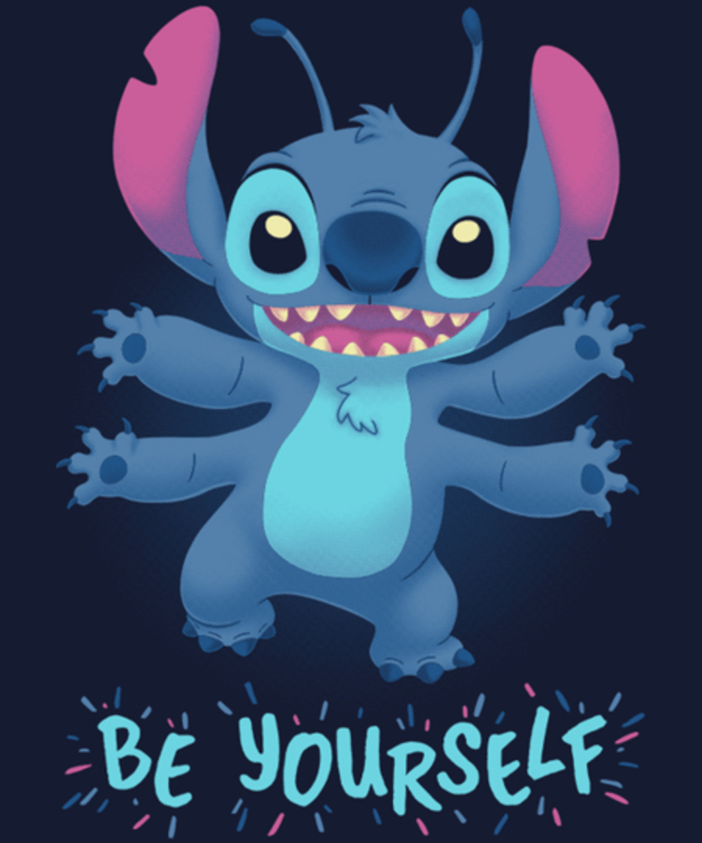 Qwertee: Be Yourself