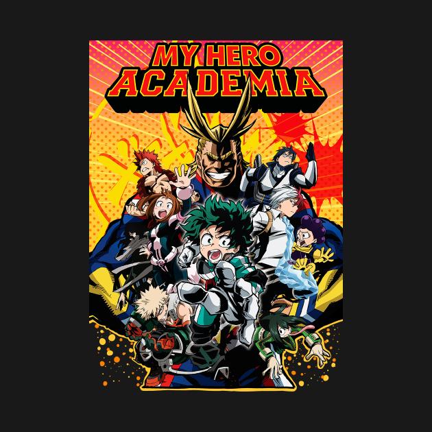 TeePublic: My hero academia