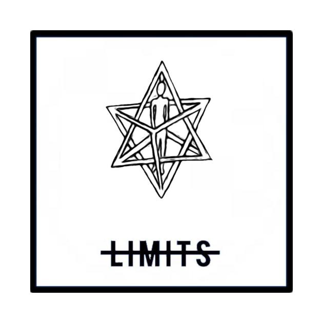 TeePublic: No Limits Merkaba White #8