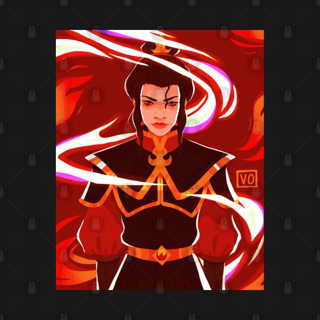TeePublic: Fire Nation Princess