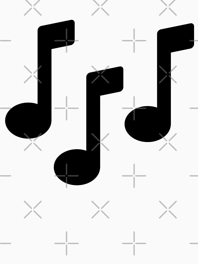 RedBubble: Music Note Art Pattern