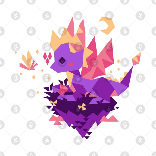 TeePublic: Tiny Spyro
