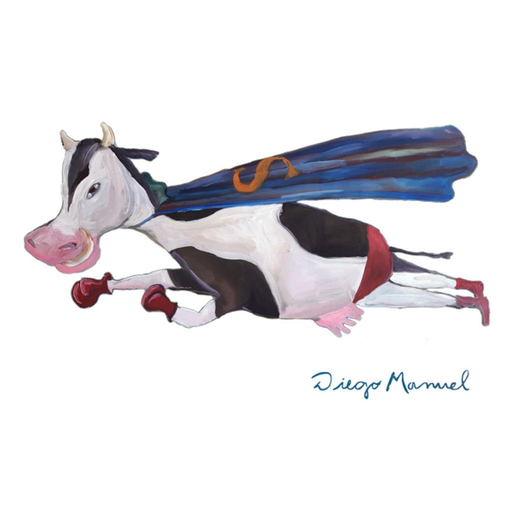 NeatoShop: Flying cow