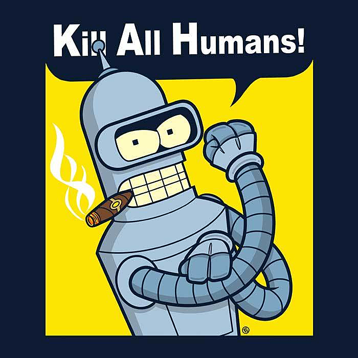 Once Upon a Tee: We Can Kill All Humans