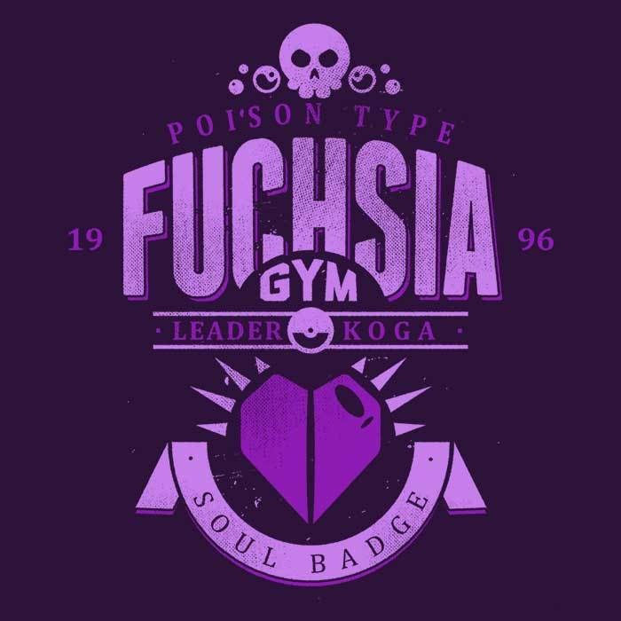 Once Upon a Tee: Fuchsia City Gym