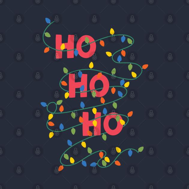 TeePublic: Ho Ho Ho Merry Christmas
