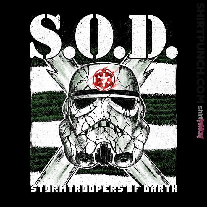 ShirtPunch: S.O.D.