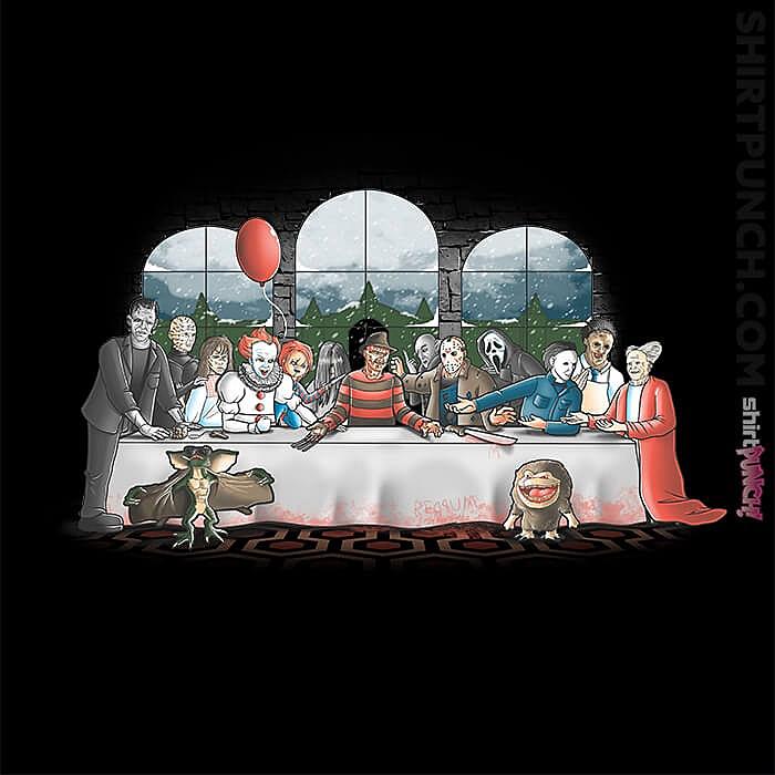 ShirtPunch: Terror Dinner