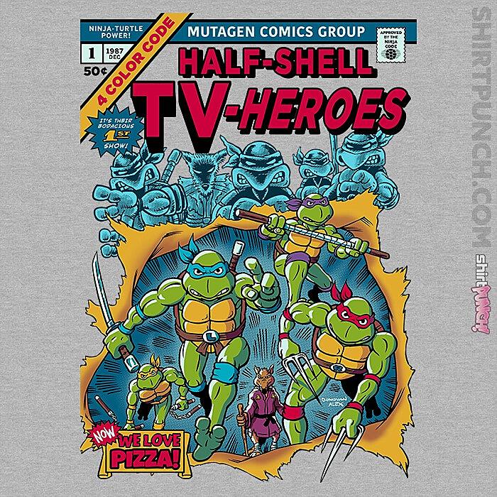 ShirtPunch: Giant SIzed Turtles