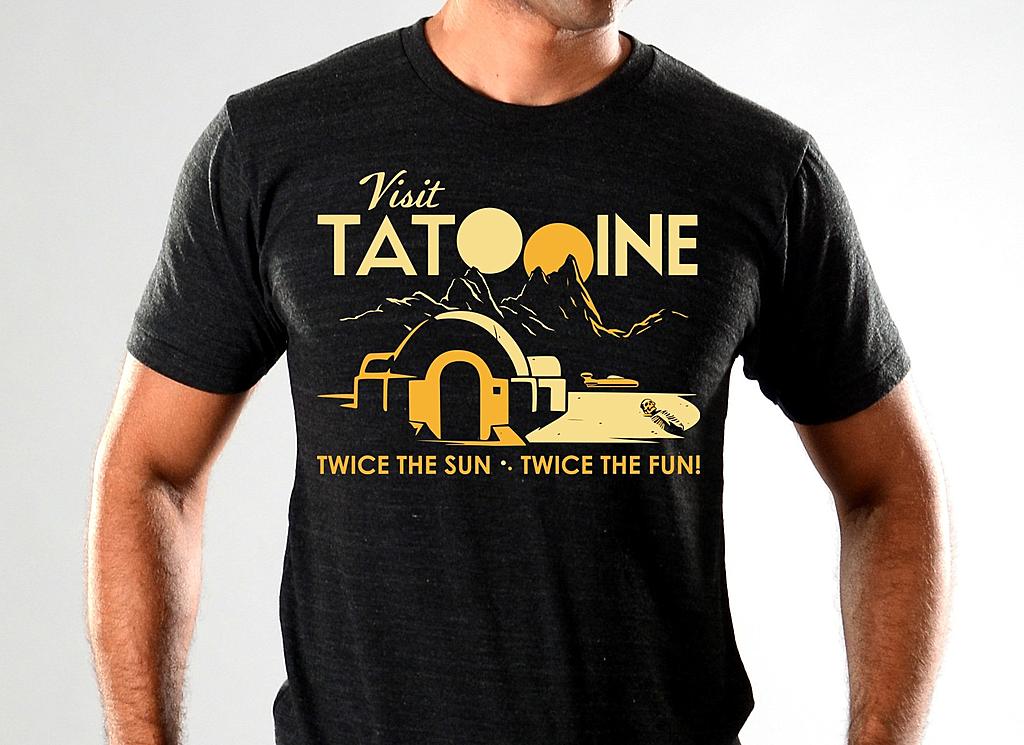 SnorgTees: Visit Tatooine Limited Edition Tri-Blend